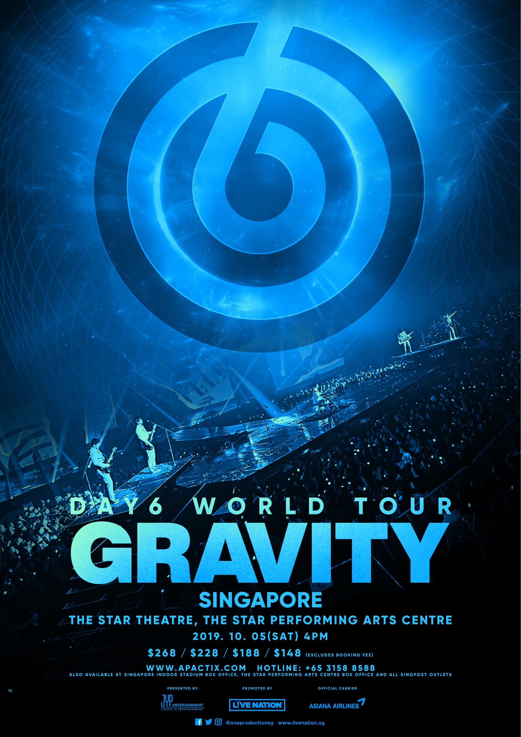 DAY6 World Tour 'Gravity' - The Star PAC