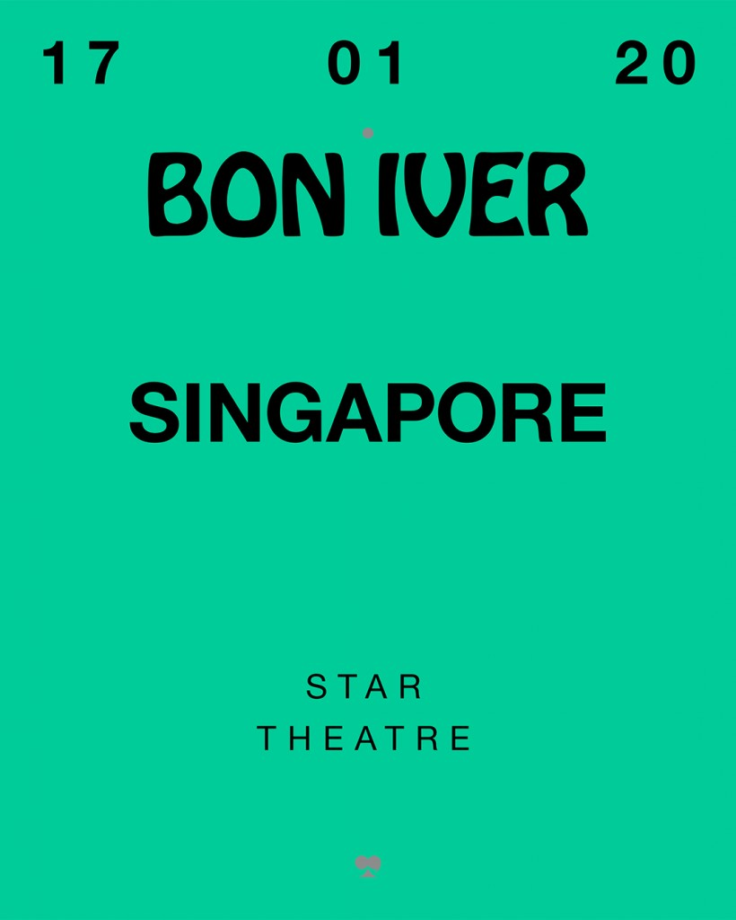 Bon Iver - SG Poster - small