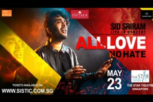 Sid Sriram Poster 310 X207